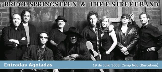Bruce Springsteen Barcelona